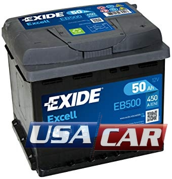 EXIDE Excell 50Ah EB500
