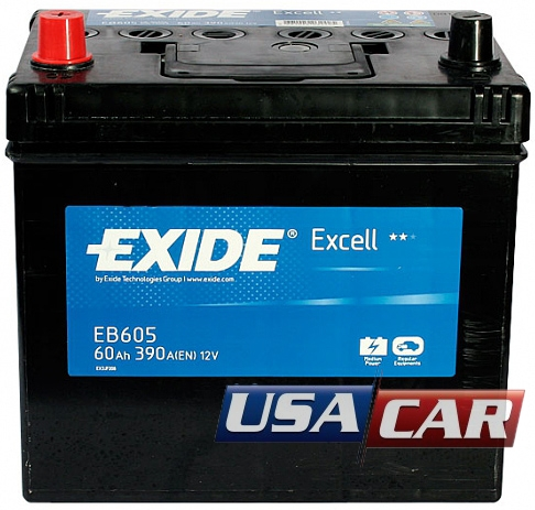EXIDE Excell 60 А/ч EB605