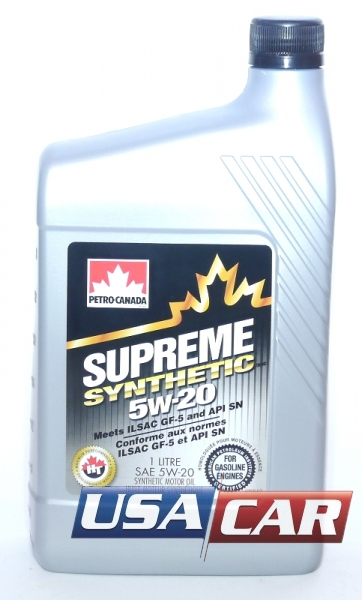 PETRO CANADA Supreme Synthetic 5w-20 1л