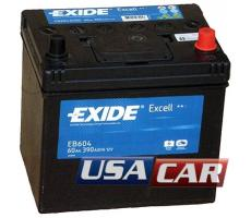 EXIDE Excell 60 А/ч EB604